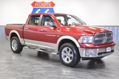 2011_Ram_1500_CREWCAB 4WD!! LARAMIE PACKAGE!! LEATHER! SUNROOF! NAVIGATION! CHROME WHEELS!!_ Norman OK