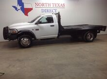 2011_Ram_4500_FREE DELIVERY 4500 4x4 Diesel Single Cab Flat Bed Ranch Hand_ Mansfield TX