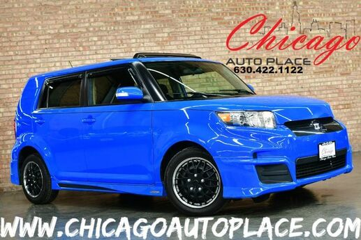 2011 Scion xB Release Series 8.0 - 2.4L VVT-I I4 ENGINE FRONT WHEEL DRIVE DARK GRAY/BLUE CLOTH INTERIOR PIONEER AUDIO CLIMATE CONTROL PROJECTOR HEADLAMPS SUNROOF Bensenville IL