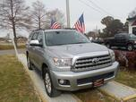 2011 TOYOTA SEQUOIA PLATINUM 4X4, WARRANTY, LEATHER, 3RD ROW, SUNROOF, NAV, DVD PLAYER, RUNNING BOARDS, HEATED SEATS!!!!