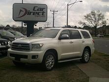 TOYOTA SEQUOIA PLATINUM 5.7L V8 4X4, AUTOCHECK CERTIFIED, NAVI, BACK UP CAM,  DVD, 3RD ROW, ONLY 64K MILES, MINT! 2011