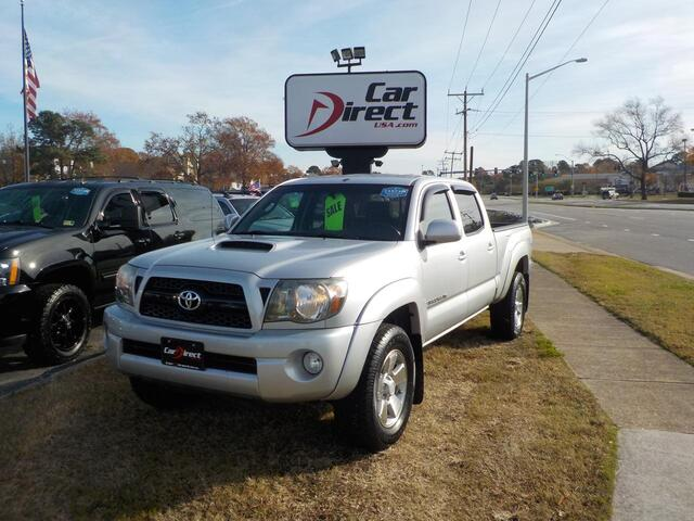2011 TOYOTA TACOMA DOUBLE CAB TRD SPORT 4X4, BUY BACK GUARANTEE AND WARRANTY, LONG BED, TOW PKG, LOW MILES! Virginia Beach VA