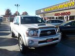 2011 TOYOTA TACOMA TRD SPORT 4X4, BUYBACK GUARANTEE, WARRANTY, SATELLITE RADIO, TOW PACKAGE, BED LINER, LOW MILES!
