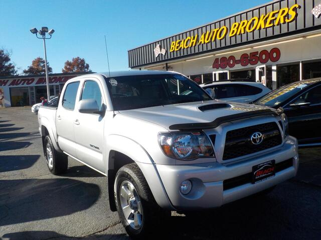 2011 TOYOTA TACOMA TRD SPORT 4X4, BUYBACK GUARANTEE, WARRANTY, SATELLITE RADIO, TOW PACKAGE, BED LINER, LOW MILES! Norfolk VA