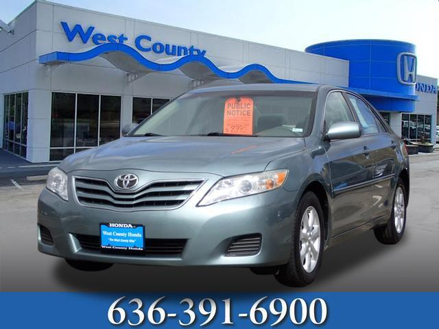 toyota camry 2011 oil change schedule
