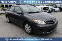 2011 Toyota Corolla LE South Burlington VT