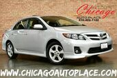 2011 Toyota Corolla S - 1.8L VVT-I I4 ENGINE 1 OWNER BLACK CLOTH INTERIOR SUNROOF ALLOY WHEELS USB/AUX INPUT