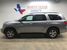 2011_Toyota_Sequoia_SR5 Premium Heated Leather Sunroof 8 passenger 3rd Row_ Mansfield TX