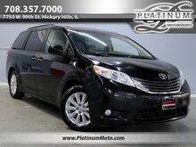 2011_Toyota_Sienna XLE AWD_1 Owner Leather Roof Camera Loaded_ Hickory Hills IL