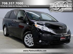 Toyota Sienna XLE AWD 1 Owner Leather Roof Camera Loaded 2011