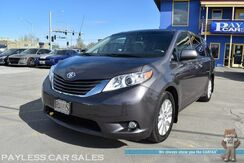 2011_Toyota_Sienna_XLE / AWD / Auto Start / Heated Leather Seats / Sunroof / Power Sliding Doors / Rear Captain Chairs / 3rd Row / Seats 7 / Bluetooth / Back Up Camera / Power Liftgate / Aluminum Wheels / Block Heater_ Anchorage AK