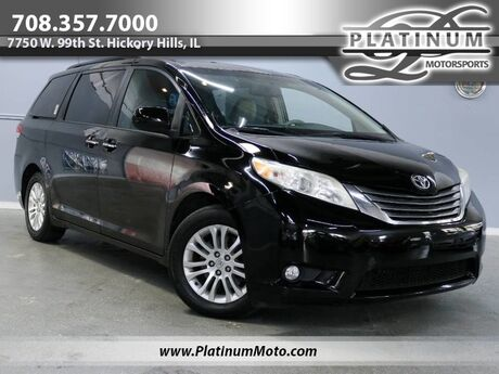 2011 Toyota Sienna XLE Florida Vehicle Nav Leather Roof 2 Keys Books Loaded Hickory Hills IL