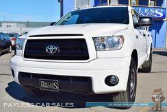 2011_Toyota_Tundra_SR5 / TRD Rock Warrior Pkg / 4X4 / 5.7L V8 / Crew Max / Leather Seats / Bluetooth / Cruise Control / Bed Liner / Tow Pkg_ Anchorage AK