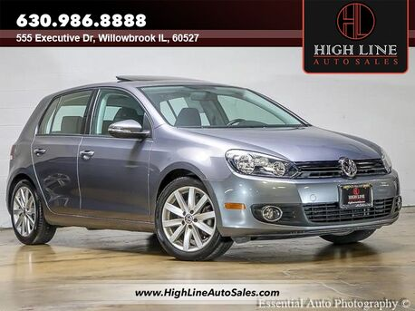 2011_Volkswagen_Golf_TDI_ Willowbrook IL