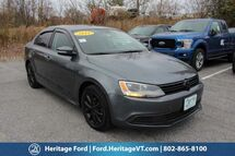 2011 Volkswagen Jetta Sedan SE South Burlington VT