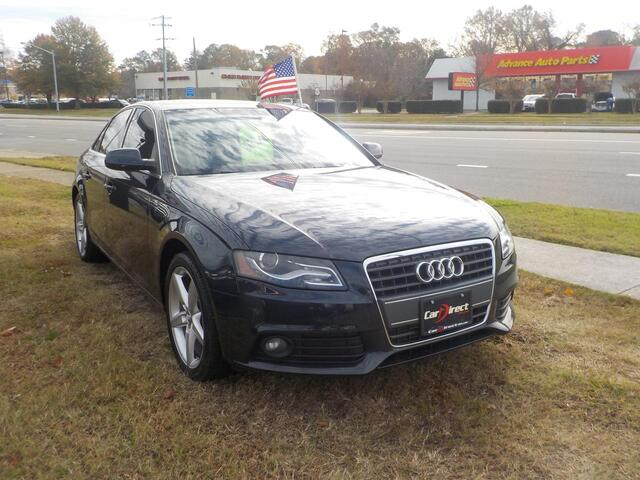 2012 AUDI A4 2.0T PREMIUM, BUY BACK GUARANTEE AND WARRANTY, BLUETOOTH, CD PLAYER, SIRIUS, SUNROOF, NEW CONDITION! Virginia Beach VA