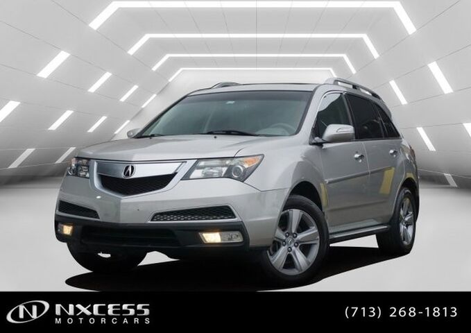 2012 Acura MDX SH-AWD V6 Roof Leather Backup Camera. Houston TX