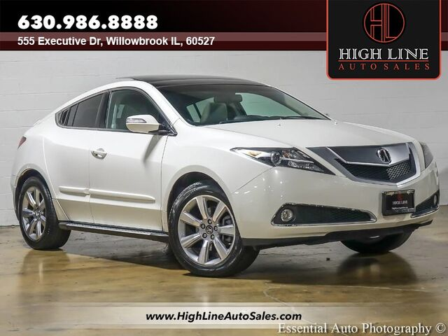2012 Acura ZDX Tech Pkg Willowbrook IL