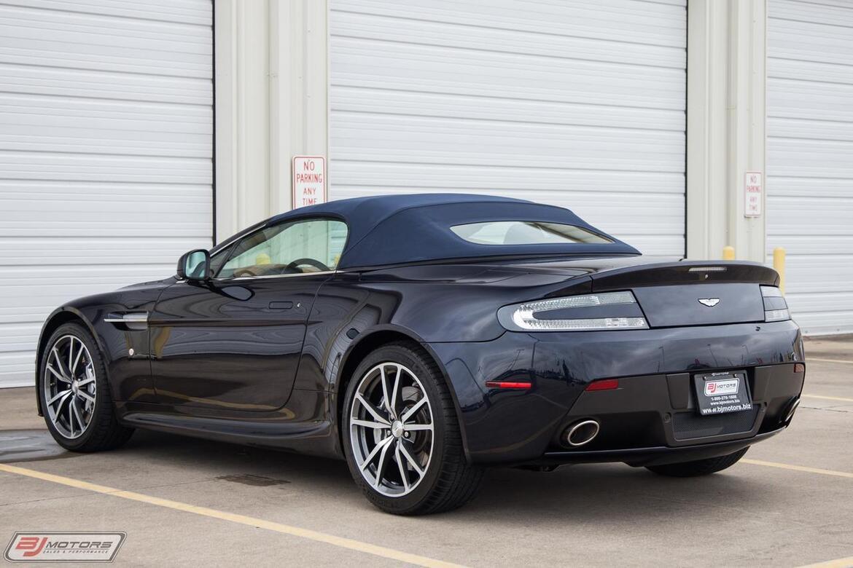 2012 Aston Martin V8 Vantage Roadster Tomball TX