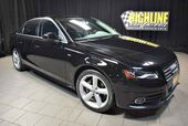 2012 Audi A4 Quattro 2.0T 6-Speed Premium Plus