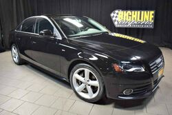 Audi A4 Quattro 2.0T 6-Speed Premium Plus 2012
