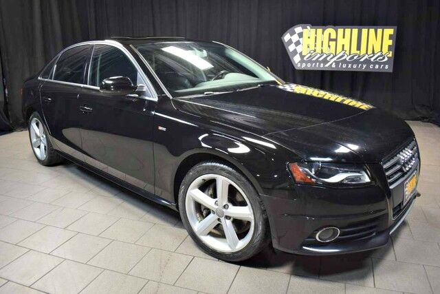 2012 Audi A4 Quattro 2.0T 6-Speed Premium Plus Easton PA