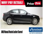 2012 Audi A4 Quattro 2.0T Premium Plus Manual