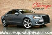 2012 Audi A5 2.0T Premium Plus - 2.0L TFSI TURBOCHARGED 4-CYL ENGINE ALL WHEEL DRIVE 6-SPEED MANUAL NAVIGATION BACKUP CAMERA KEYLESS GO BLACK LEATHER HEATED SEATS