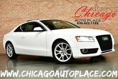 2012_Audi_A5_2.0T Premium Plus - 2.0L TFSI TURBOCHARGED 4-CYL ENGINE QUATTRO ALL WHEEL DRIVE BLACK LEATHER HEATED SEATS SUNROOF BLUETOOTH XENONS ALUMINUM SILVER INTERIOR TRIM_ Bensenville IL
