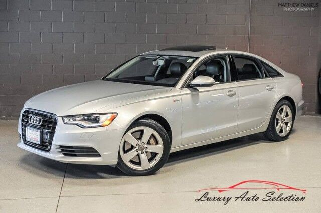 2012_Audi_A6 3.0T Quattro Premium Plus_4dr Sedan_ Chicago IL