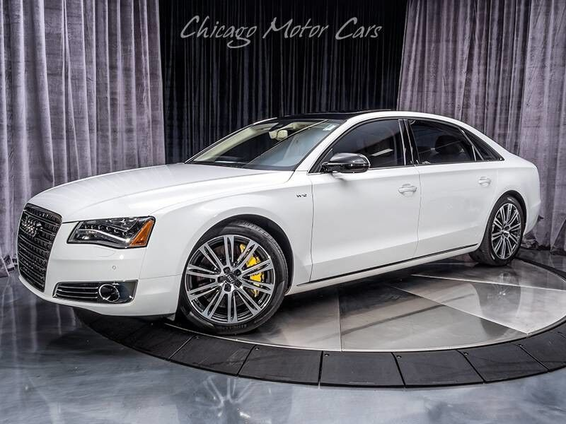 2012_Audi_A8 L W12_Sedan_ Chicago IL