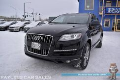 2012_Audi_Q7_3.0L TDI Premium Plus Quattro AWD / Turbo Diesel / Front & Rear Heated Leather Seats / Heated Steering Wheel / Navigation / Panoramic Sunroof / Bose Speakers / Bluetooth / Back Up Camera / 3rd Row / Seats 7 / Tow Pkg_ Anchorage AK