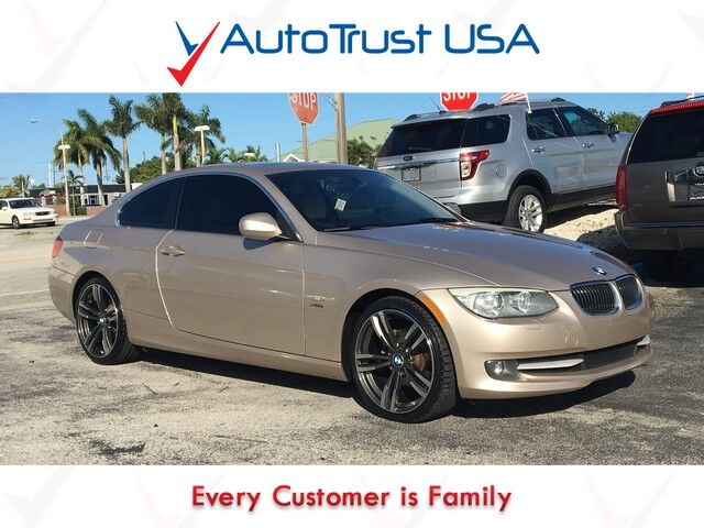 BMW Series I XDRIVE NAV SUNROOF MANUAL TRANS Miami FL - 2012 bmw 328i manual