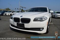 2012_BMW_5 Series_528i xDrive AWD / Turbocharged / Power & Heated Leather Seats / Sunroof / Navigation / Bluetooth / Back Up Camera / Cruise Control / 33 MPG_ Anchorage AK