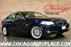 2012_BMW_5 Series_535i xDrive - 3.0L 300HP INLINE 6 CYLINDER ENGINE ALL WHEEL DRIVE NAVIGATION BACKUP CAMERA KEYLESS GO TAN LEATHER HEATED SEATS XENONS SUNROOF_ Bensenville IL