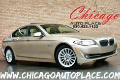 2012_BMW_5 Series_535i xDrive - 3.0L DOHC 300 HP INLINE 6-CYL ENGINE ALL WHEEL DRIVE NAVIGATION BACKUP CAMERA PARKING SENSORS PREMIUM PACKAGE COLD WEATHER PACKAGE XENONS KEYLESS GO_ Bensenville IL