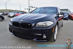 2012_BMW_550i_xDrive AWD / M Sport Pkg / 4.4L 400HP V8 / Front & Rear Heated Leather Seats / Heated Steering Wheel / Navigation / Sunroof / Bluetooth / Back Up Camera / Lane Departure Alert / Keyless Start / HID Headlights_ Anchorage AK