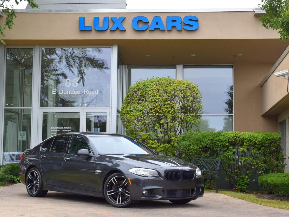 2012_BMW_550i_xDrive M-Sport Nav Night Vision AWD MSRP $83,820_ Buffalo Grove IL