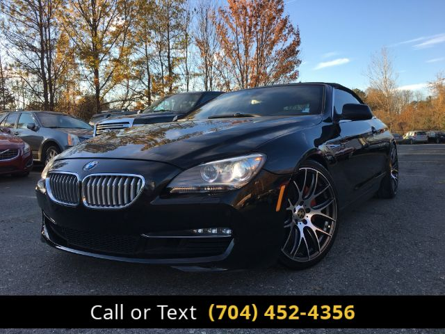 2012 BMW 6-Series 650i Convertible Charlotte and Monroe NC