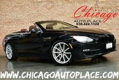 2012_BMW_6 Series_650i xDrive Convertible - 4.4L 400HP V8 ENGINE ALL WHEEL DRIVE NAVIGATION BACKUP CAMERA KEYLESS GO BROWN LEATHER HEATED/COOLED SEATS XENONS_ Bensenville IL