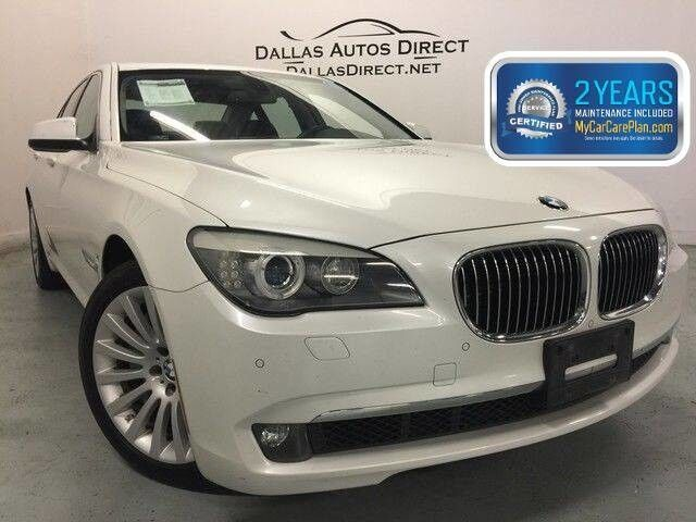 2012 BMW 7 Series 750i Carrollton  TX