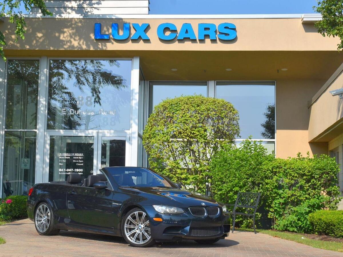 2012_BMW_M3_Convertible Nav 6-Speed Manual MSRP $72,785_ Buffalo Grove IL