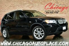 2012_BMW_X3_35i - 3.0L INLINE 6-CYL ENGINE ALL WHEEL DRIVE NAVIGATION BACKUP CAMERA XENONS PANO ROOF KEYLESS GO POWER LIFTGATE HEATED SEATS_ Bensenville IL