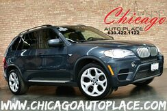 2012_BMW_X5_35d - 1 OWNER 3.0L 265HP INLINE 6-CYL ADVANCED DIESEL TWIN-POWER ENGINE PREMIUM PACKAGE SPORT PACKAGE NAVIGATION TOP VIEW CAMERAS PANO ROOF KEYLESS GO 3RD ROW SEATS POWER LIFTGATE XENONS_ Bensenville IL