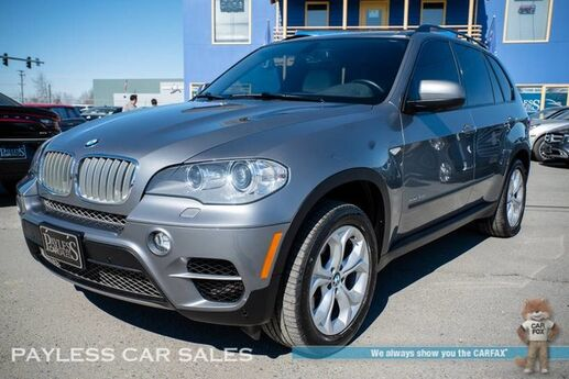 2012 BMW X5 35d xDrive AWD / Turbocharged Diesel / Front & Rear Heated Leather Seats / Heated Steering Wheel / Navigation / Panoramic Sunroof / Bluetooth / Back-Up Camera / Tow Pkg Anchorage AK