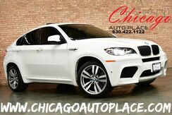 2012_BMW_X6 M_4.4L TWIN-TURBOCHARGED V8 ENGINE ALL WHEEL DRIVE NAVIGATION BACKUP CAMERA HEADS-UP DISPLAY KEYLESS GO BLACK LEATHER HEATED SEATS CARBON FIBER INTERIOR TRIM_ Bensenville IL