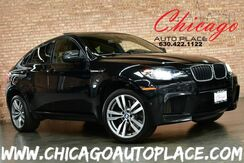 2012_BMW_X6 M_4.4L TWIN-TURBOCHARGED V8 ENGINE ALL WHEEL DRIVE NAVIGATION TOP VIEW CAMERAS BLACK LEATHER HEATED SEATS KEYLESS GO SUNROOF PARKING SENSORS POWER LIFTGATE XENONS_ Bensenville IL