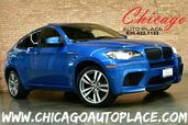 2012 BMW X6 M 4.4L TWIN-TURBOCHARGED V8 ENGINE ALL WHEEL DRIVE NAVIGATION TOP VIEW CAMERAS HEADS-UP DISPLAY KEYLESS GO CARBON FIBER INTERIOR TRIM XENONS