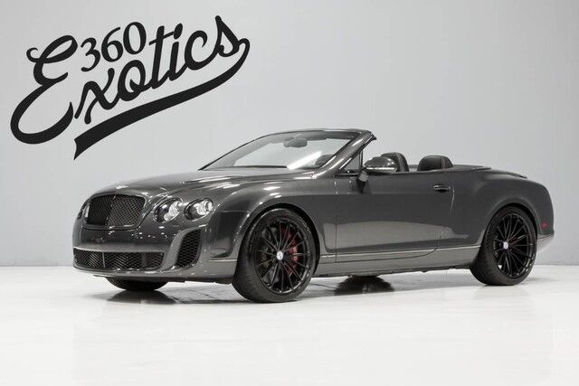 2012 Bentley Continental GT Supersports Conv Austin TX