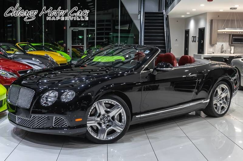 2012_Bentley_Continental_GTC Convertible Mulliner Package_ Chicago IL